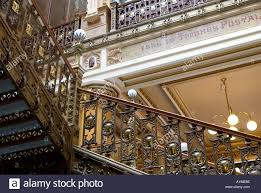 Beautiful Lamps Beautiful Detailed Art Deco Stairs Lamps And Bannister In Correo