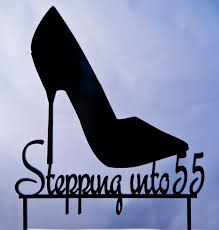 shoe cake topper stiletto heel shoe birthday cake topper stepping into cake