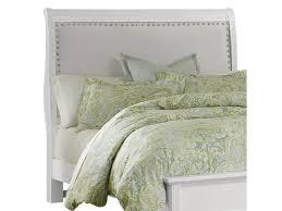 vaughan bassett french market queen upholstered headboard linen