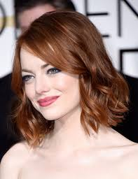 emma stone short wavy cut short wavy emma stone and emma stone hair