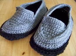 simply homemade crochet mens slipper pattern crochet mens slipper pattern