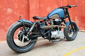 modified bullet royal enfield 350 cc twin spark thunderbird modified bobber bull