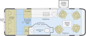 Rialta Motorhome Floor Plans Era Floorplans Winnebago Rvs
