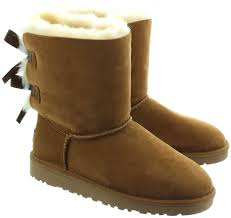 imitation ugg boots sale ugg bailey bow boots in chestnut in chestnut