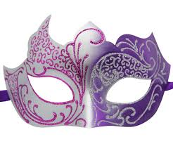 masquarade mask and silver masquerade mask with glitter