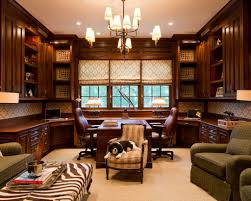 Masculine Home Office by Classic Home Office Design Classic Home Office Design 23 Elegant