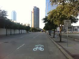 Dallas Map Traffic by Following Traffic Patterns Not Paint U2013 Cyclingsavvy
