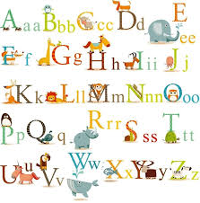 Baby Decals For Walls Cherrycreek Decals Stickers Classic Animals Alphabet Baby Nursery