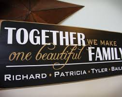 wedding quotes joining families blended family quote custom blended family sign persona lized