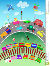 transportation clipart for kids collection