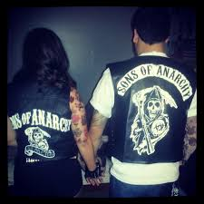 Sons Anarchy Costume Halloween Sons Anarchy Couples Diy Costumes Bought Cheap Biker Vests
