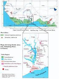 Accra Ghana Map Progress Report