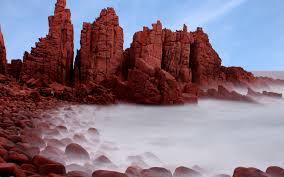 Red Landscape Rock by Australia Landscape Rock Rock Formation Nature Coast Long