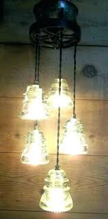 glass insulator light kit insulator l insulator light cluster glass lights railroad ring