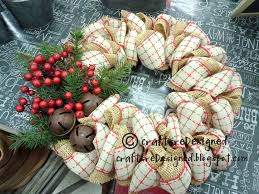 crafts redesigned burlap or mesh wreaths one day i u0027ll be this