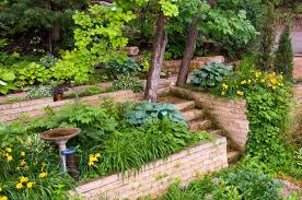 Landscaping Ideas For Slopes 27 Backyard Retaining Wall Ideas And Terraced Gardens
