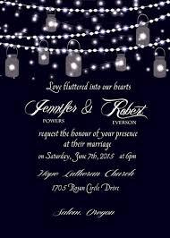 Mason Jar Wedding Programs Boho Rustic Wedding Invitations Mason Jars Heart Chalkboard Ewi369