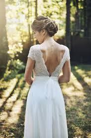 robe de mariã e dentelle dos noémie robe de mariée dos nu dentelle de la collection sur