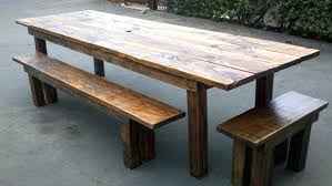 Wood Bench Metal Legs Dining Table Renew Reclaimed Wood Dining Table Designs Recycled