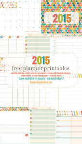free printable planner online free planner and calendar more 2015 free printable planner