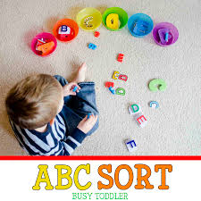 abc sort toddler literacy activity busy toddler