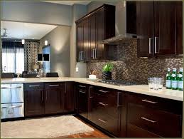 Black Cabinets In Kitchen Kitchen Espresso Cabinets Home Decoration Ideas