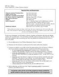 character sketch example essay in mla argumentative essay