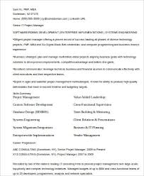 sample it manager resume 8 examples in word pdf