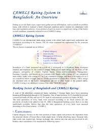 camels rating about u0026 of national bank ltd