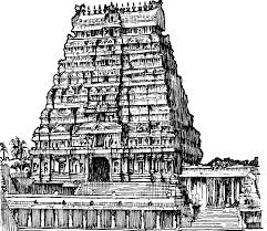 hindu clipart south indian temple pencil and in color hindu