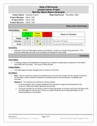 project status checklist template meeting report review best