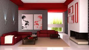 wallpapers interior design 3d interior design red accents widescreen wallpaper wide