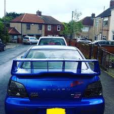 subaru modified highy modified 2004 subaru impreza wrx sti uk type 550 bhp with