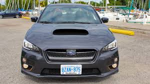 subaru sport car 2017 2017 subaru wrx sport tech cvt test drive review