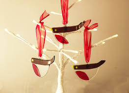 making fused glass christmas tree decorations helen robinson