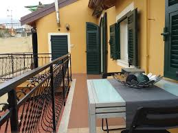 period house on the beach in the seaside village of riva ligure
