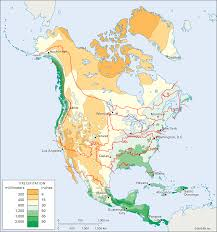 United States Climate Map by Genes Climate And Even More Maps Of The American Nations
