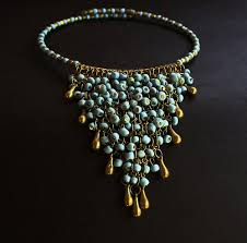 bead necklace style images Bohemian style seed beads necklaces collar bead necklace tiara jpg