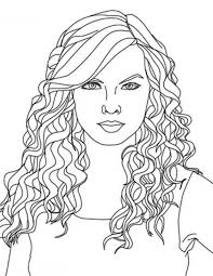 taylor swift taylor swift close coloring coloring