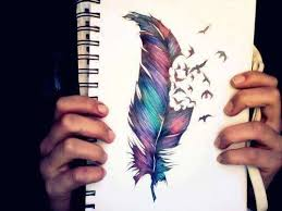 feather butterfly cover up ideas
