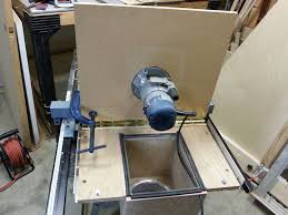 router table dust collection add a router table with dust collector to your table saw