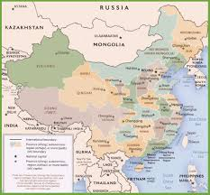 India Political Map by China Maps Maps Of China