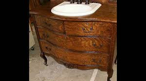 antique dresser bathroom vanity youtube