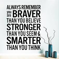 Home Decor Quote Online Get Cheap Brave Quotes Aliexpress Com Alibaba Group