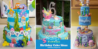 luvibee kids company bubble guppies birthday cake ideas and