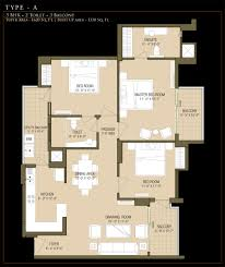 floor plan of cleo county sector 121 noida aba corp by goldmine