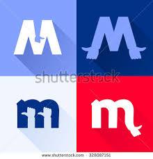 h letter line logo vector design stock vector 267261428 shutterstock