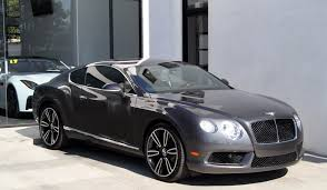 continental bentley 2013 bentley continental gt mulliner edition stock 081211