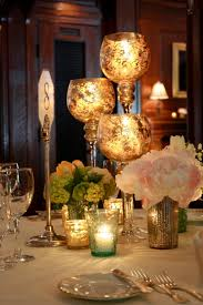 Wedding Candle Holders Centerpieces by Dreamy Candlelight Spring Wedding Mercury Glass Glass Candle