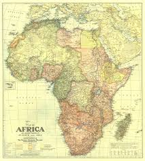 Southwest And Central Asia Map by Africa Map 1922 With Portions Of Europe And Asia Maps Com